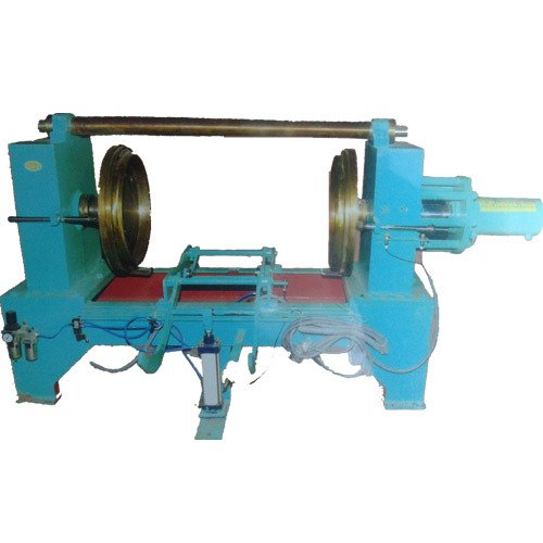 Horizontal Double Ended Bump Flanging Machine